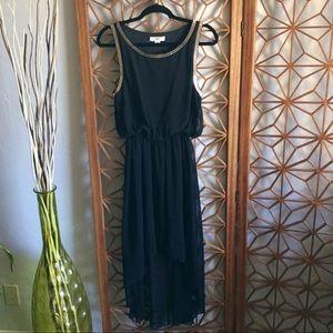 ISSI Dresses - Black Grecian cocktail dress